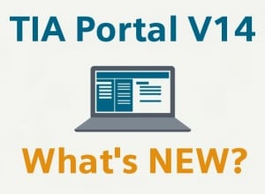 TIA Portal V14 new features
